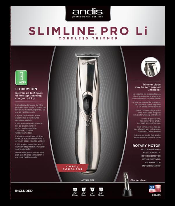 Andis Slimline Pro Li vezeték nélküli kontúrvágó