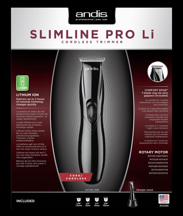Andis Slimline Pro Li Black cordless