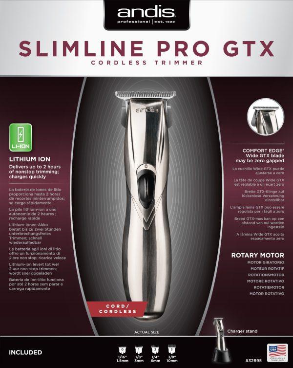 Andis SlimLine Pro Li GTX T-wide kontúrvágó