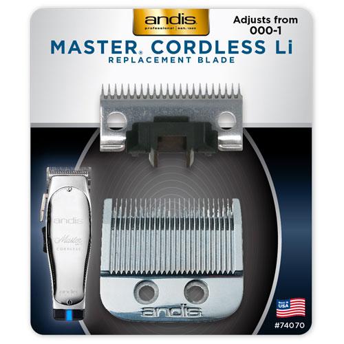 Andis MAster Cordless Li replacement blade