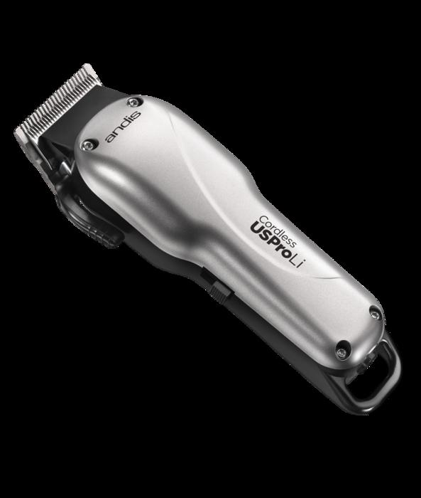 Andis USPRO Li vezeték nélküli hajvágó gép ezüst