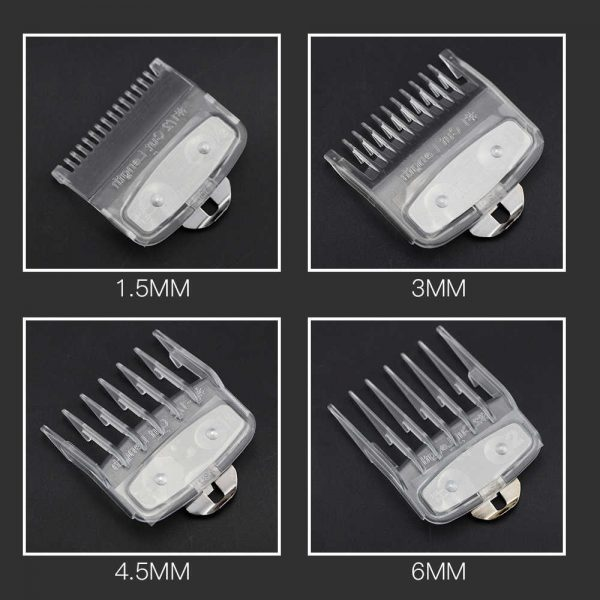 transparent clipper combs wahl